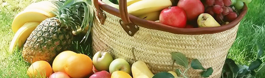 slider basket fruit